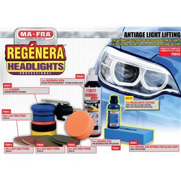 Zestaw do regeneracji reflektorów samochodowych-199