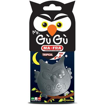 MR GUGU BLACK - Odświeżacz samochodowy o zapachu tropikalnym (sowa)-226